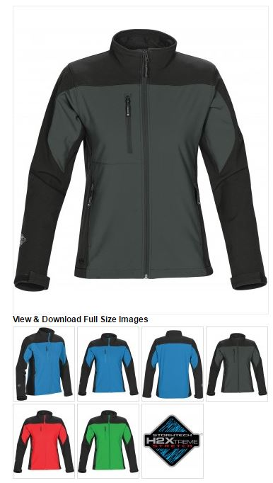STORMTECH - WOMEN'S EDGE SOFTSHELL - BHS-2W