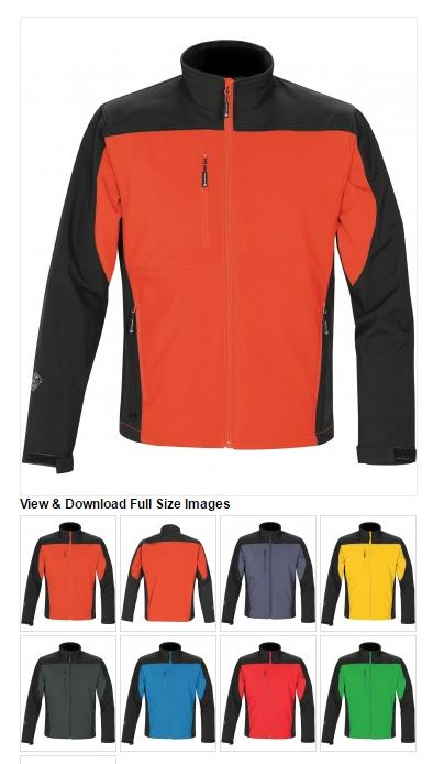 STORMTECH - MEN'S EDGE SOFTSHELL - BHS-2