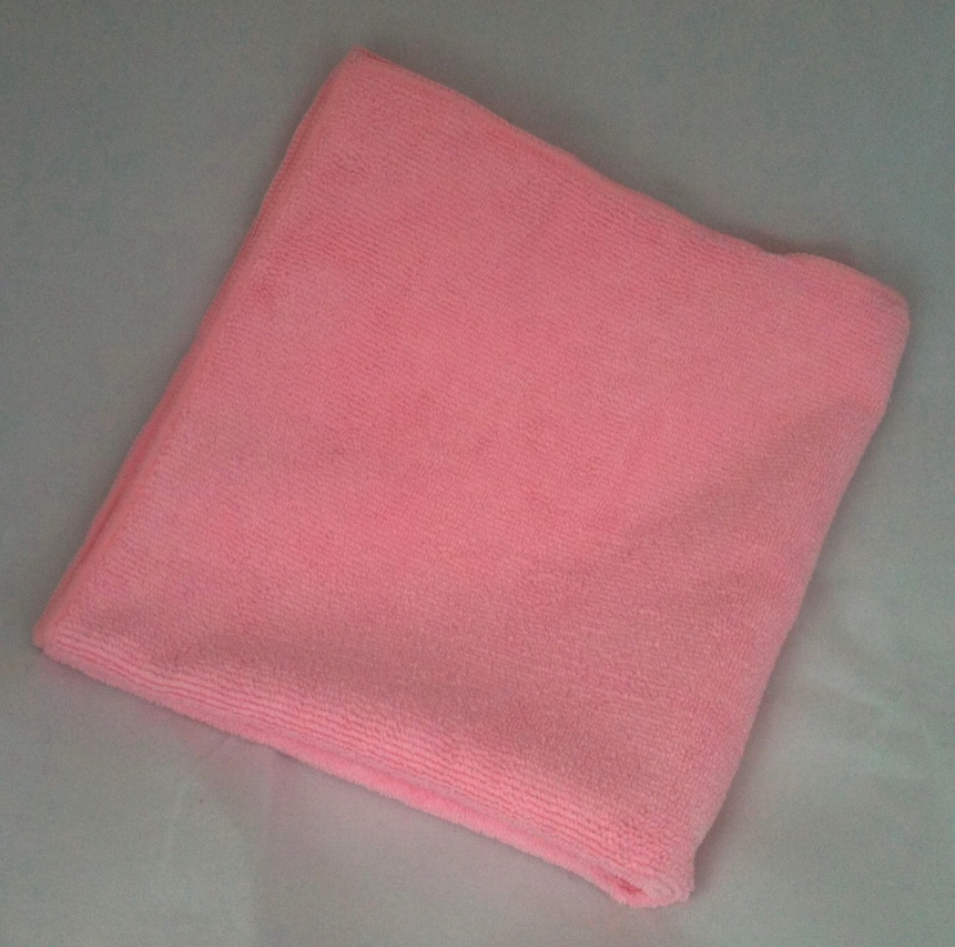 "Microfiber General Cleaning Cloth - 16x16"" - Pink"