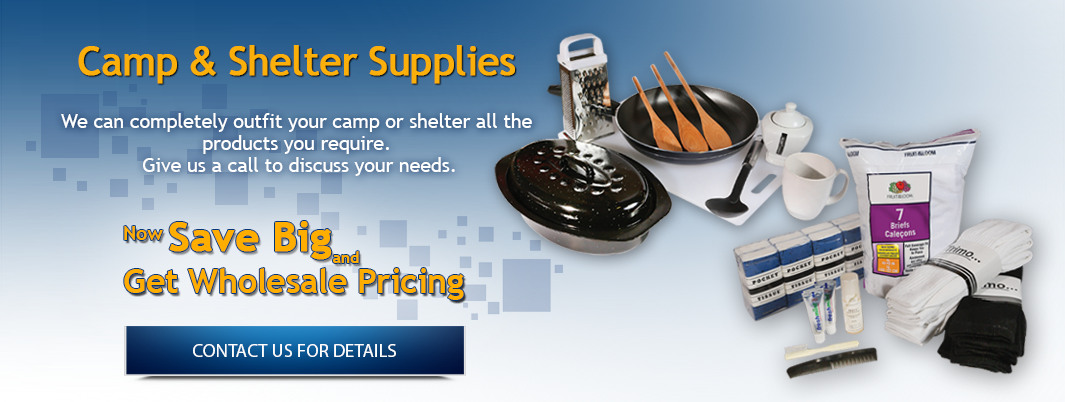 Shelter and Camp Supplies